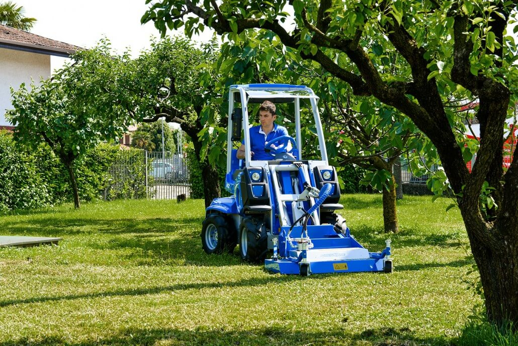 MultiOne mini loader 2 series with flail mower2