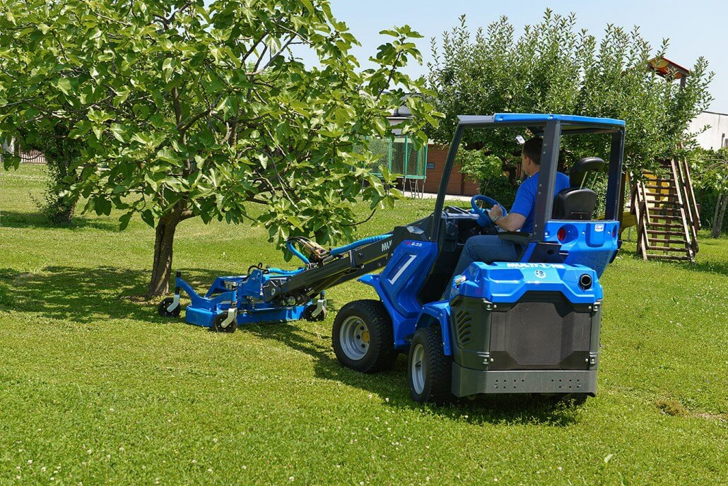 MultiOne mini loader 6 series with lawn mower