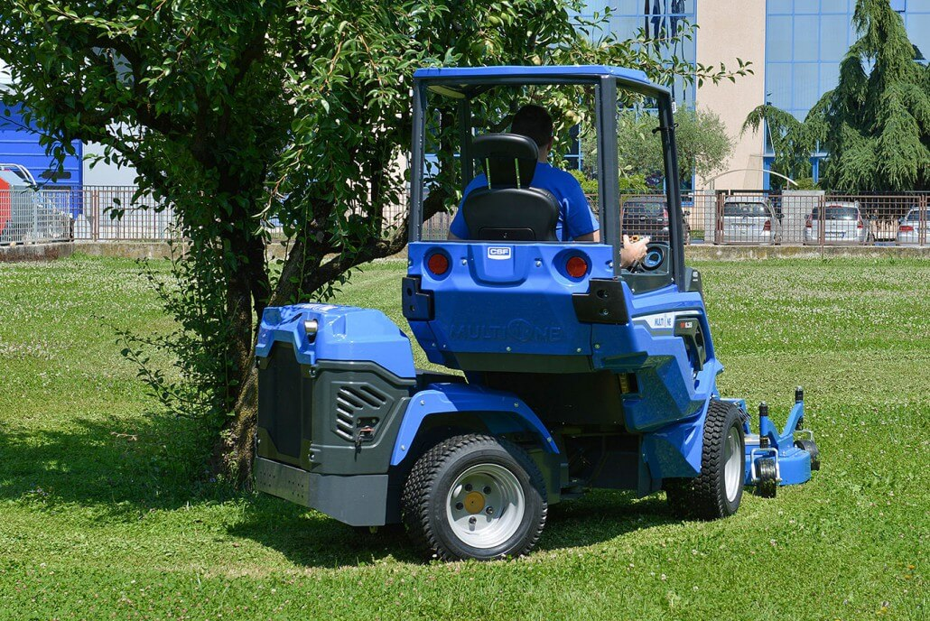 MultiOne mini loader 6 series with tornado lawn mower3